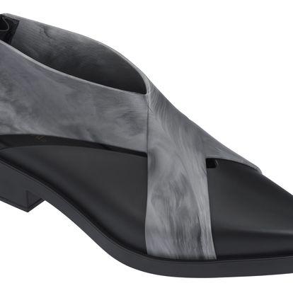 Melissa černé kotníkové boty X-Boot Black - 39