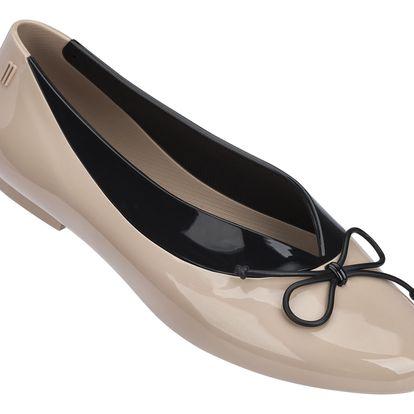 Melissa béžové baleríny Just Dance Brown/Black - 35/36