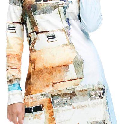 Culito from Spain barevné šaty Casa - XL