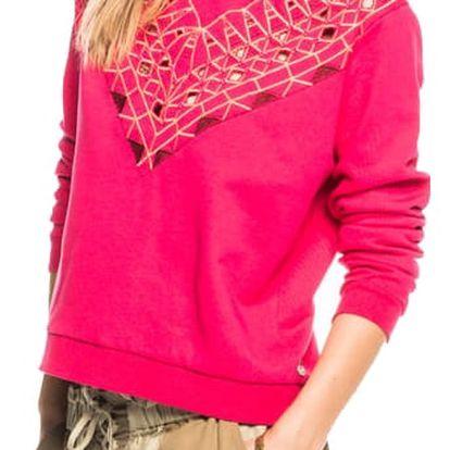 Scotch&Soda růžová mikina Embellished - L
