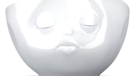Bílá líbající miska 58products