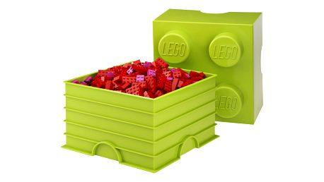 Limetková úložná kostka LEGO®