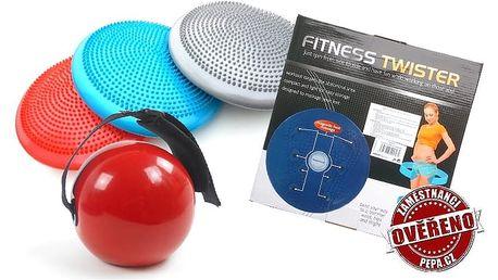 Masážní a fitness pomůcky – posilovací koule, rotana nebo balanční disk