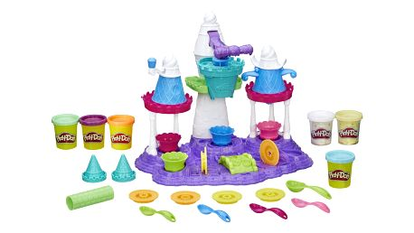 Sada Play-Doh na výrobu dortů Zmrzlinový palác, 2v1