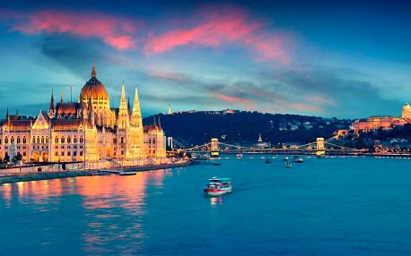Pár dní v Budapešti: pobyt v centru se snídaní