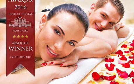 Luxusní Jeseníky v 4* Hotelu Slovan: až 18 wellness procedur, gurmánské menu či sauna