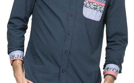 Desigual tmavě modrá pánská košile Joya 2 - XL