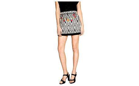 Desigual černo-bílá sukně Attea - 36