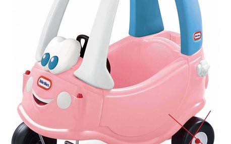 Ťapací autíčko Little Tikes Cozy Coupe - růžovo modré