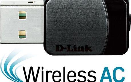D-Link DWA-171 + Webshare VIP Silver, 1 měsíc, 10GB, voucher zdarma