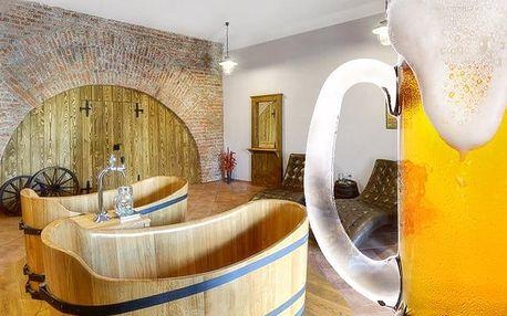 3–4denní pivní pobyt v lázních Poděbrady v hotelu Soudek*** pro 2 osoby