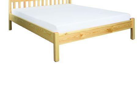 Dřevěná postel 120x200 LK116 borovice