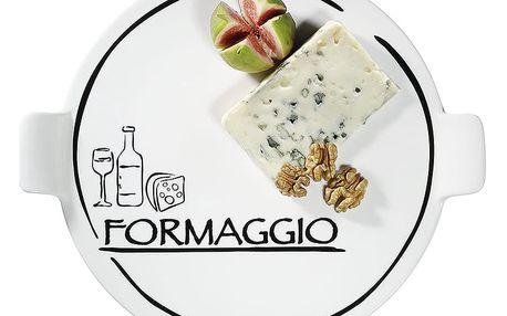 Porcelánový talíř na sýry Formaggio Cilio 26 cm