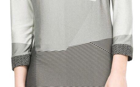 Desigual šedé šaty Sico - XS