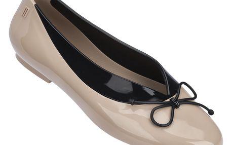 Melissa béžové baleríny Just Dance Brown/Black - 40