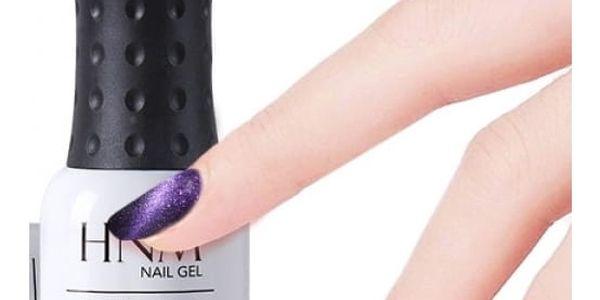 UV/LED dlouhotrvající metalický gel lak - více barev