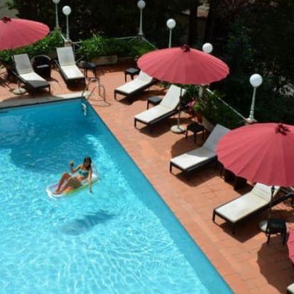 Luxusní Toskánsko na 6 dní pro dva s polopenzí a bazénem