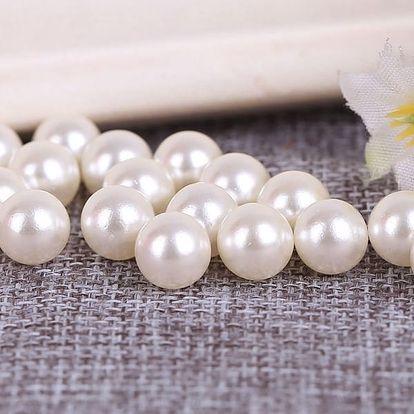 Akrylátové perly k výrobě šperků - 5x5 mm - dodání do 2 dnů