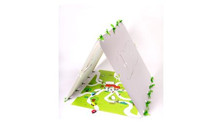 Domeček Unlimited Design For Children Zelená silnice - doprava zdarma!