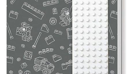 Šedý zápisník LEGO®