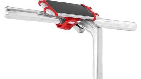 """BONE držák na kolo pro mobil 4-6"""" Bike Tie PRO - Red"""