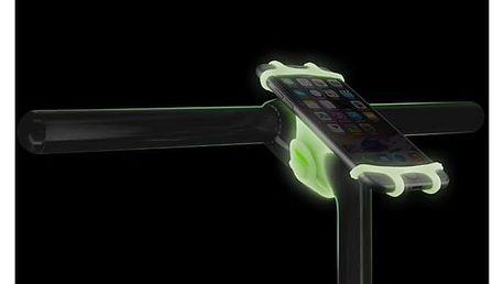 "BONE držák na kolo pro mobil 4-6"" Bike Tie PRO - Luminous Green"