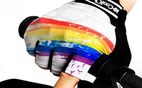 Cyklistické bezprsté rukavice - 4 varianty
