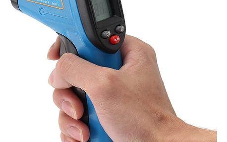 Laserový teploměr se snímačem infračervených paprsků a digitálním displejem