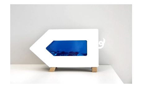 Modrá kasička Unlimited Design for kids Prasátko