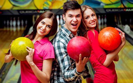 Hodina aktivní zábavy: Bowling až pro 8 hráčů