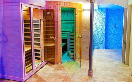 Relax v hotelu na úpatí Krušných hor vč. vstupu do wellness oázy a polopenze