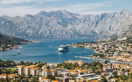Týden u moře v Černé Hoře včetně polopenze