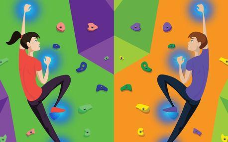 Climball: Interaktivní hra na horolezecké stěně