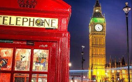 Zájezd do Anglie. Londýn, Oxford na 4 dny s ubytováním v hotelu*** se snídaní