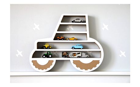 Polička Unlimited Design For Children Traktor