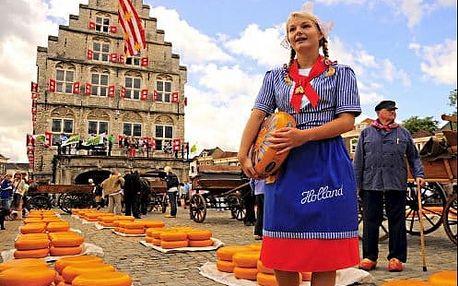 Zájezd na 5 dní za krásami Holandska - Amsterdam a květinový trh, Volendam, skanzen Zaanse Schans