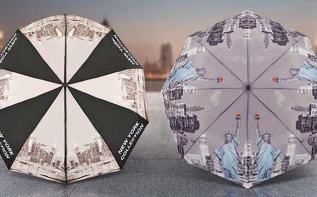 V suchu a s elegancí: deštníky s motivy měst