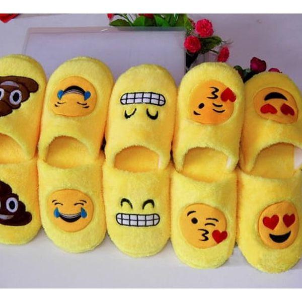 Pantofle smajlíci Emoji