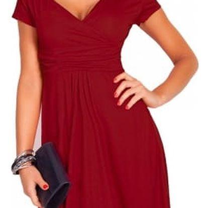 Dámské jednobarevné šaty ve všech barvách i velikostech
