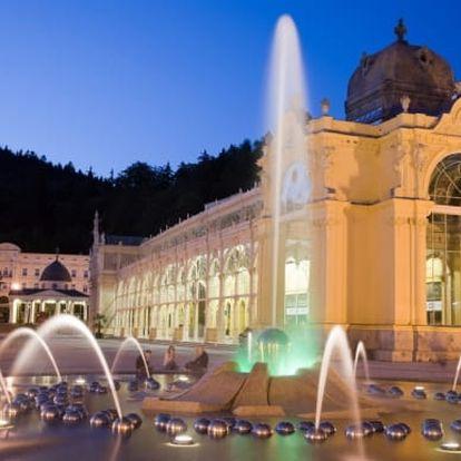 Mariánské Lázně Hotel Goethe*** 3-5 dní pro dva: polopenze, bazén