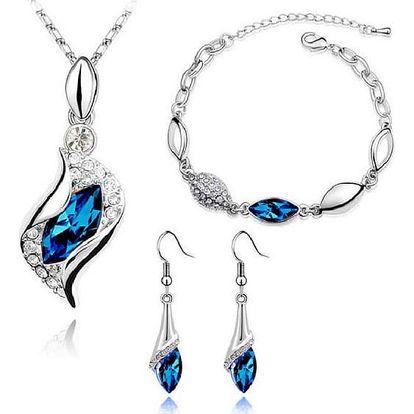 Sada šperků s kamínky