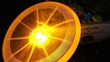 Psí LED létající talíř