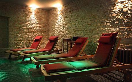 Relaxační balíček pro 1 osobu - sauna, whirlpool a pára bez časového omezení