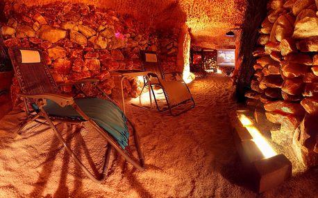 Solná jeskyně pro 1-2 osoby, možnost permanentky až na 15 vstupů