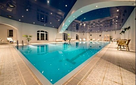 Neomezený wellness pobyt s bazénmi v luxusním 4* Resortu SEN kousek od Prahy