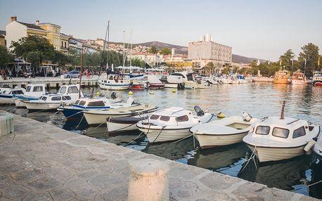 3denní koupání v Chorvatsku pro 1 osobu včetně dopravy z Brna
