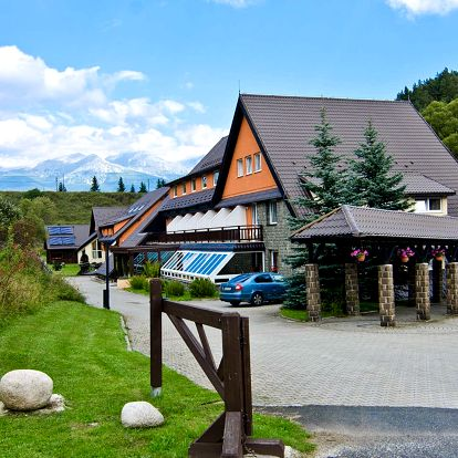 Letní dovolená v tatranském hotelu Sipox***