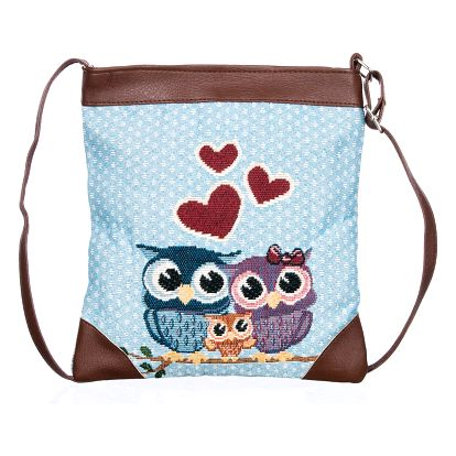 Fashion Icon Kabelka Blue Love Own crossbody přes rameno
