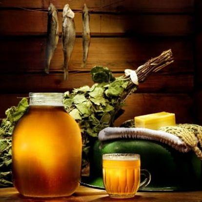 Pivní lázeň + masáž pro dva + 2x velké pivo, Lázně U Hastrmana