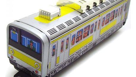 Nostalgická hračka pro děti i dospělé - vlak metra
